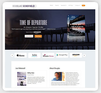 author web design