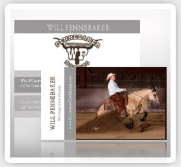 Will Pennebaker Working Cow Horse